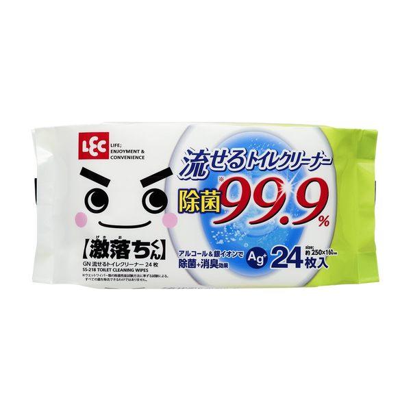 日本製 LEC 馬桶濕紙巾24張入 [霜兔小舖]