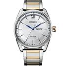 CITIZEN星辰 GENT'S 經典格紋紳士腕錶 AW0084-81A