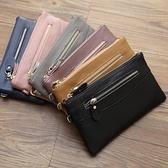 手拿包 2020新款韓版手拿包女士錢包女長款拉鏈手提女式夾錢夾潮