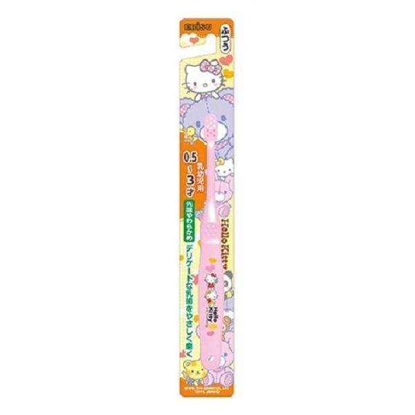日本EBISU Hello Kitty 0.5~3歲兒童牙刷