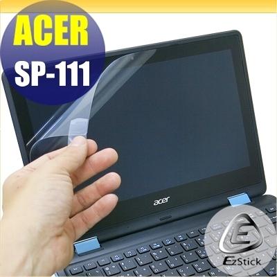 【Ezstick】ACER Spin 1 SP-111 31 特殊規格 專用 靜電式筆電LCD液晶螢幕貼(可選鏡面或霧面)