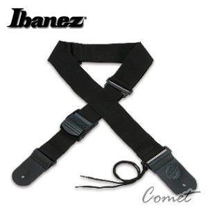 【缺貨】【木吉他/電吉他/貝斯皆可用】 Ibanez GS361-BK 吉他背帶