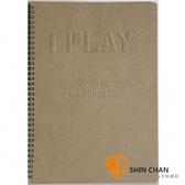 【吉他譜/簡譜/烏克麗麗譜/和弦譜】  I Play 音樂手冊 :My songbook 大字版