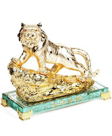 老虎工藝品擺件 助事業招財風水擺設裝飾品開業禮物