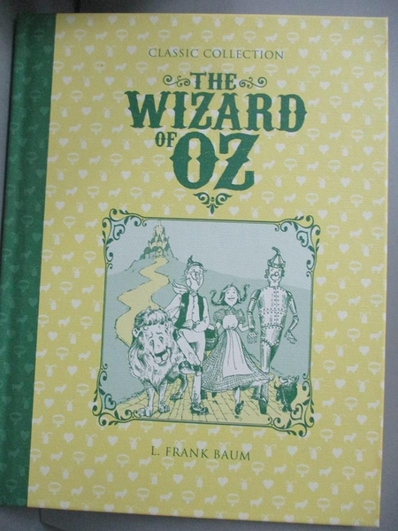 【書寶二手書T3/兒童文學_JGH】The Wizard of OZ_FRANK BAUM