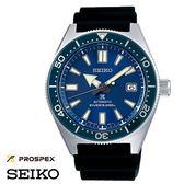 SEIKO PROSPEX 藍框膠帶水鬼機械潛水錶 43mm 藍寶石水晶玻璃鏡面 SPB053J1 6R15-03W0B 公司貨