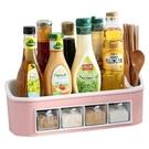 調味料盒 家用廚房用品用具收納盒調味罐味精糖鹽罐調料罐子組合套裝【快速出貨八折搶購】