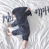 嬰童裝嬰兒連身衣服男寶寶1歲3個月4春季8春裝6潮【全館免運八五折】