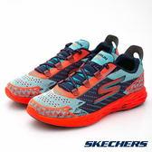 SKECHERS 女鞋 跑步系列GORun5 NITE OWL- 夜鷹橘 15000BLCL