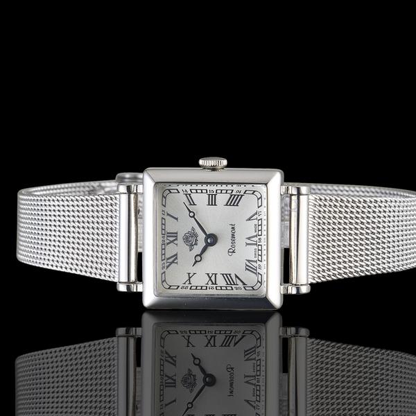 玫瑰錶Rosemont韓劇她的私生活朴敏英同款錶 TNS011-SWR-MT4 銀