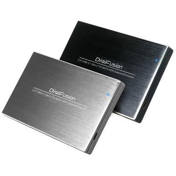 """伽利略 USB3.1 Type-C to SATA/SSD 2.5"""" 鋁合金硬碟外接盒-黑 (HD-330U31S)"""