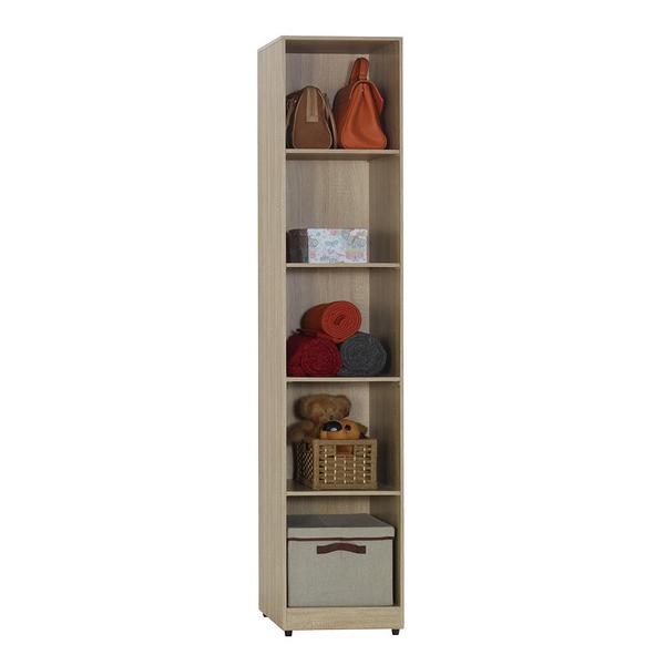 凱文梧桐色1.3尺開放式隔板衣櫃(18JF/056-4)/H&D東稻家居