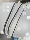 晴日小舖 Silver 黃金專用 黑皮繩 防水繩 項鍊 鋼扣頭[ spp 038 ]