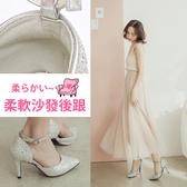 Ann'S時髦基礎-素面側空繫帶顯瘦尖頭高跟鞋-銀