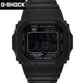 G-SHOCK 太陽能電波酷黑膠錶NECG30