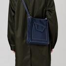 日系新款單肩斜背包/側背包包韓版百搭ins托特包男女學生帆布包簡約書包 極簡雜貨