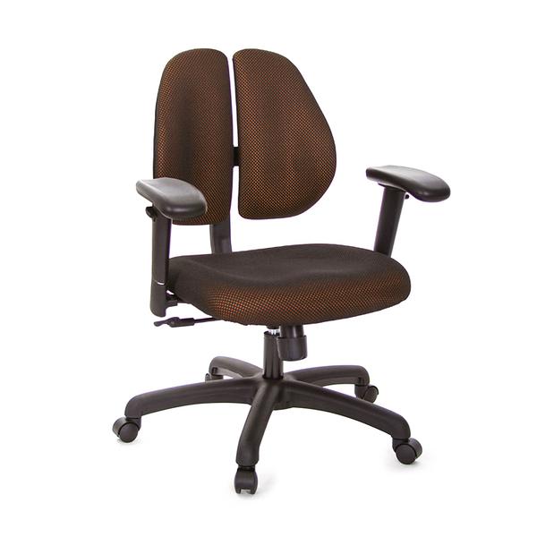 GXG 短背成泡 雙背椅 (升降滑面扶手) 型號2990 E6