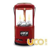 【UCO】UCO GEAR 蠟燭大吊燈『紅色』C-C-STD 野外求生 露營 登山 戶外 蠟燭 氣氛燈 營燈