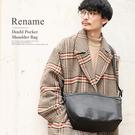 日本品牌 Rename 斜背包  防潑水 採用日本防撕裂尼龍面料 通勤包 簡約 男女兼用 RSG-82038