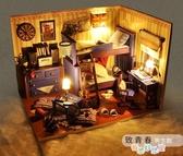 【免運快出】 小屋手工製作小房子模型別墅拼裝玩具建築創意生日禮物男女生 奇思妙想屋