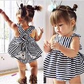 嬰兒短袖套裝 吊帶背心裙+短褲 花邊三角褲 寶寶童裝 SK232 好娃娃