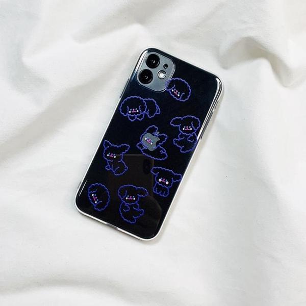 韓國ins小狗iphone11Pro max蘋果X/XS手機殼XR軟膠6s/7/8plus