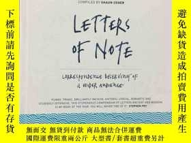 二手書博民逛書店Letters罕見of Note:Correspondence Deserving of a Wider Audi