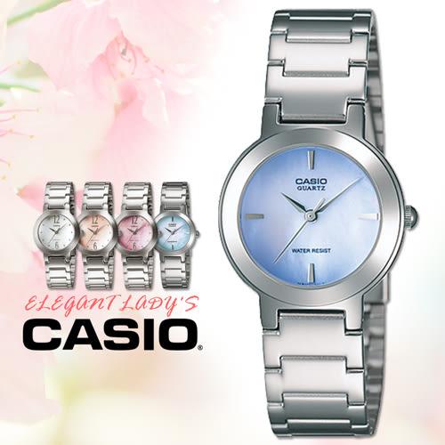CASIO手錶專賣店 卡西歐 LTP-1191A-2C 女錶 指針錶 不銹鋼錶帶 三折錶帶 礦物防刮玻璃
