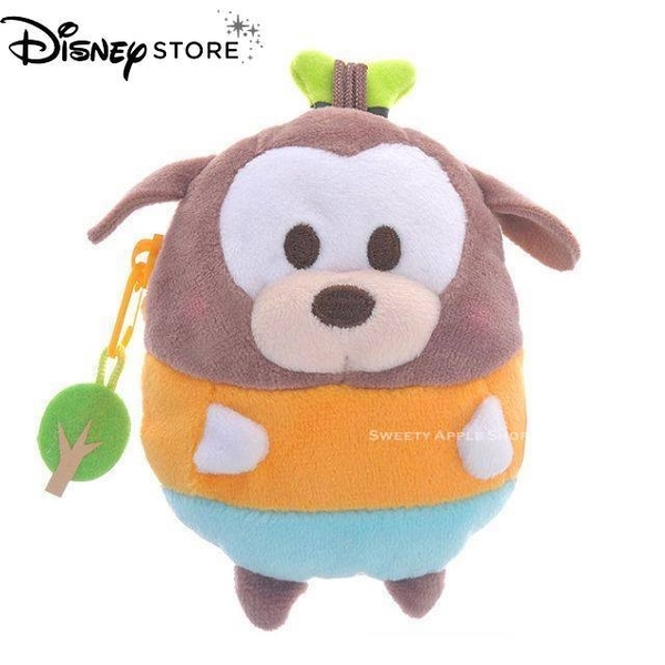 日本 DISNEY STORE 迪士尼商店限定 ufufy系列 高飛 玩偶零錢包