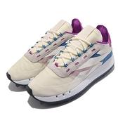 Reebok 休閒鞋 Legacy 83 米白 藍 紫 厚底 增高 女鞋 越野大底 運動鞋 【ACS】 FW9855