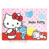 〔小禮堂〕Hello Kitty 腳踏墊《粉.點點.小熊》64x45cm.止滑海棉軟墊.地墊 4713052-38683