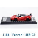Scale Box 1/64 模型車 Ferrari 法拉利 458 SB640004A 紅色
