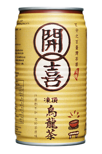 開喜烏龍茶 340ml 罐裝