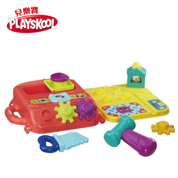 PLAYSKOOL兒樂寶- 小工具手提箱遊戲組