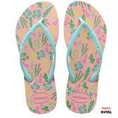 Havaianas 哈瓦士 新竹皇家 H.SLIM romance 夏日粉色 細帶 夾腳鞋 女款 NO.H2198