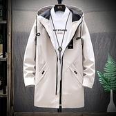 現貨 外套棉衣男士外套秋冬季新款韓版潮流加絨加厚中長款羽絨棉襖外套