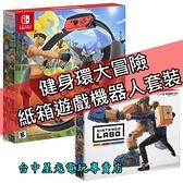 【現貨 可刷卡】NS Switch 健身環大冒險 Ring Fit 同捆組 健身冒險+Labo 02 中文版【台中星光】