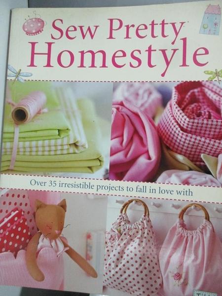 【書寶二手書T4/設計_DJD】Sew Pretty Homestyle_Finnanger, Tone