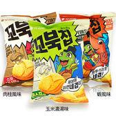 韓國 Orion 好麗友 烏龜玉米脆餅 65g【新高橋藥妝】3款供選