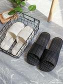 拖鞋男士夏季室內情侶家居家用防滑軟底洗澡浴室拖鞋 深藏blue