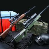 AWM水彈槍巴雷特絕地吃雞模型求生98k狙擊搶可發射手動 熊熊物語 熊熊物語