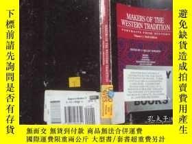 二手書博民逛書店Makers罕見of the Western Tradition