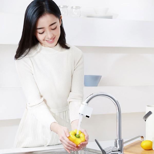 小米有品 咱家感應節水器 感應水龍頭 紅外線感應 水龍頭 節水神器 省水 快速出水 防溢水