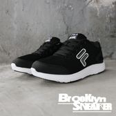 FILA 黑白 大logo 網布 透氣 休閒鞋 慢跑鞋 女 (布魯克林)  5J907Q001
