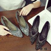 孕婦單鞋女平底鞋防滑