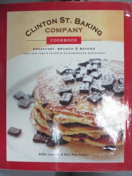 【書寶二手書T1/餐飲_XEG】Clinton St. Baking Company Cookbook