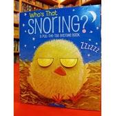 【麥克書店】 WHOS THAT SNORING? /Pull-the-Tab (到底是誰的鼾聲?)