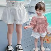 女童短褲夏裝新款夏季時尚韓版洋氣寶寶兒童寬鬆網紅休閒褲子 格蘭小舖