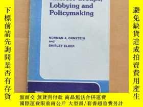 二手書博民逛書店Interest罕見Groups Lobbying and Policymaking(英文原版)Y11026