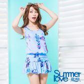 【夏之戀SUMMERLOVE】花漾三件式泳衣(S17701)